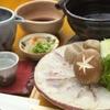 魚彩鶴巳 - 料理写真:加太の鯛しゃぶ