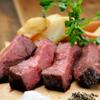 ビストロ 熟肉 - 料理写真:熟成アンガス牛肩ロースステーキ 150g