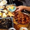 魚正宗 - 料理写真:カウンターに並んだおばんざい。チョットつまみに。