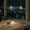 レストラン・ブリーズ・ヴェール - 内観写真:夜景を楽しみながらのディナー