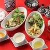モロッコ タジンや - 料理写真:お好きなドレッシングが選べるサラダ