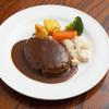 はり重 グリル - 料理写真:ハンバーグステーキ