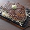 橋の下 - 料理写真:橋の下ビーフステーキ200g1100円。500gもできます。お値段は2440円!!
