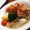 国分寺ワイン酒場 ウシカミGabu - 料理写真:白身魚とワタリ蟹のアクアパッツァ