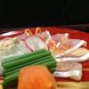 赤坂 ひかわ - 料理写真:城下カレイ薄造り
