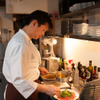 ガット ソリアーノ - 内観写真:ナポリ料理の真髄、シーフード料理をきわめる料理人