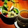 佐五右衛門 - 料理写真:有機野菜の和風バーニャカウダ 700円