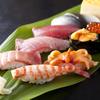 大舷 - 料理写真:大将の握る自慢の江戸前寿司