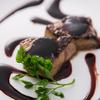 ワインノルイスケ - 料理写真:【フォアグラの炭火焼き】一羽分から贅沢に切り出したフォアグラは必食デス!!