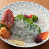 魚将 さかなちゃん - 料理写真:【アコウダイ活け造り】淡い桃色の身が美しいアコウダイ。ぷりぷりした食感をお楽しみください。