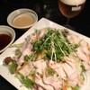 竹とんぼ - 料理写真:豚肉しゃぶしゃぶ