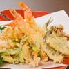 四国三郎 よしの川 - 料理写真:天ぷらの盛合せ