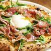 大衆イタリア食堂 アレグロ - 料理写真:水牛モッツァレラと半熟玉子、生ハムを使った「ウォーボ」