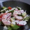 鉄板人 - 料理写真:海老とアボカドのサラダ