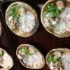 魚彩鶴巳 - 料理写真:はもうす造り