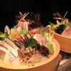 魚屋豪椀 - 料理写真:本日のお刺身の盛り合わせ3人前