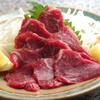 しゃぶ亭 - 料理写真:馬刺し