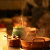 しゃぶ亭 - 内観写真:1人に1つ、伝統の1人鍋スタイルです