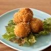 自然食カフェ&バー ナチュラル クルー - 料理写真:手作りの美味しさ。ひよこ豆のまんまるコロッケ!