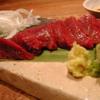 樽屋玄助 - 料理写真:信州産馬刺し赤身『生』の食感と味わいは絶品!