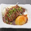 海鮮居酒屋さんせん - 料理写真:『鮪のほほ肉 たたきユッケ風』