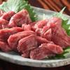 てげてげ - 料理写真:「馬刺し」 一度も冷凍していない生の馬刺しです。もっちりとした食感をご堪能ください。