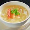 神戸元町別館牡丹園 - 料理写真:蟹肉入りふかひれスープ