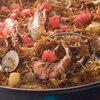 ビキニ タパ - 料理写真:カタルーニャ地方名物のフィデア(パスタパエリア)