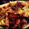 リンク - 料理写真:せせりとキャベツのシンガポール風黒胡椒炒め