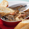 ギブリ - 料理写真:小エビとキノコのアヒージョ