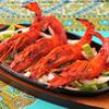 シタル - 料理写真:タンドリーで焼く大きな海老