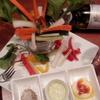 BAR Voeux - 料理写真:実家から届いた野菜畑スティック。三種のソースで・・・
