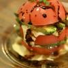 琴似バル - 料理写真:とってもかわいくて女子人気NO1!トマトとアボカドのミルフィーユ
