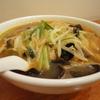 東林 - 料理写真:「辣サンマー麺」 辛さと旨さを炒め、野菜のとろみあんでとじました。やみつきの一品です。\850