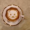 都 - ドリンク写真:可愛いカプチーノコーヒー