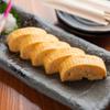 鶏扱説明所 - 料理写真:九州産の旨口醤油を使用した「地玉子出し巻き」