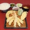 だるまの天ぷら定食 - 料理写真:エビ盛り合せ定食