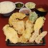 だるまの天ぷら定食 - 料理写真:肉定食