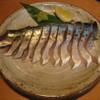 夕凪 - 料理写真:〆サバファイヤー♡ リピート#1  自家製〆サバをお客様のテーブルであぶっちゃいます(^_-)-☆