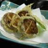 醍醐 - 料理写真:しいたけすりみ天ぷら