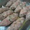 鶏翔 - 料理写真:限定串の生つくね!鶏汁たっぷりです!