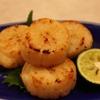 亀すし - 料理写真:貝柱塩焼き(4個)