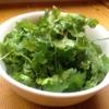 松記鶏飯 - 料理写真:パクチーサラダ パクチー好きのあなたに!! チリを効かせた甘辛ドレッシング。
