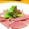 ひつじもん - 料理写真:珍しいラムの生ハム600円