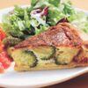 Bistro Queue - 料理写真:ブロッコリーとベーコンのキッシュ