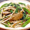 ときわ食堂 - 料理写真:ニラレバ炒め