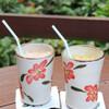 Cafe ichara - 料理写真:グァバジュース&パッションフルーツジュース