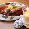 根っこや - 料理写真:のどぐろの煮付け、フォアグラの茶碗蒸し
