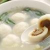 青海星 - 料理写真:魚だんごスープ