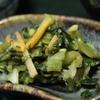 清右衛門そば - 料理写真:お漬物